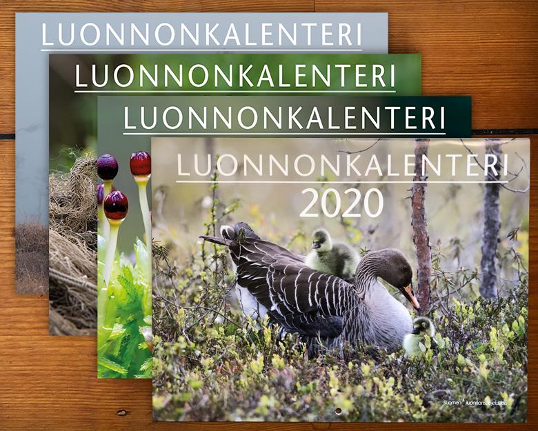 Luonnonkalentereita 2013-2020