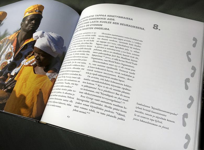 oivallus nro. 8 ja sambialaiset käymäläasiantuntijat
