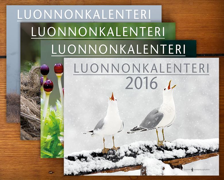 Luonnonkalenterit 2013–2016