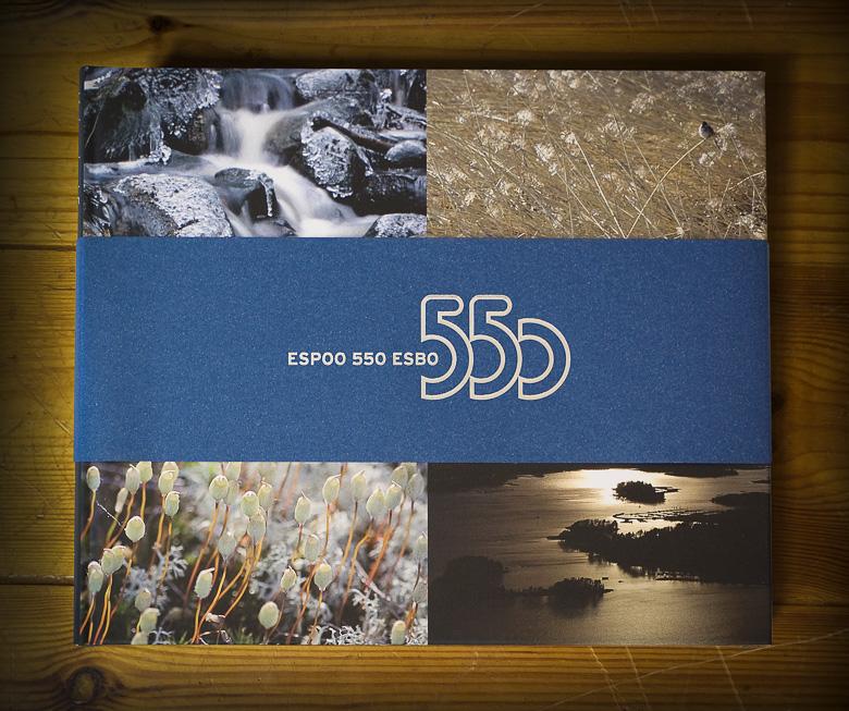Espoon 550-juhlavuoden banneri